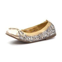 8c8c9ce80b8 Petit by Sofie Schnoor Glimmer Ballerinas gold