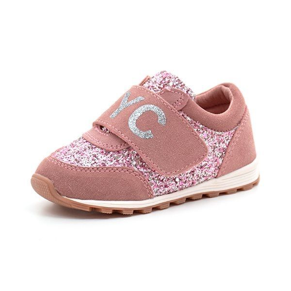 Petit by sofie schnoor Sneaker NYC, glimmer rosa