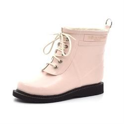 Ilse Jacobsen Damen Gummistiefel kurz, light peach