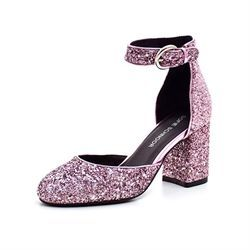 Sofie Schnoor Glitter Pump, purple
