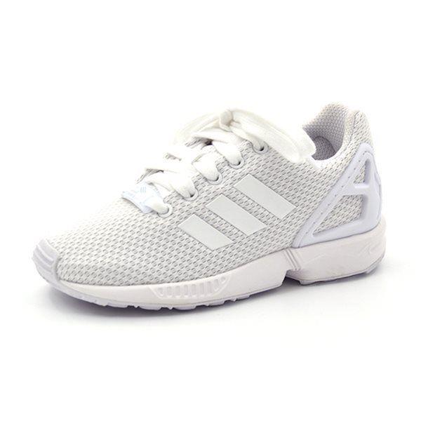 Brauch bekannte Marke zuverlässiger Ruf Adidas ZX Flux Sneaker, weiß