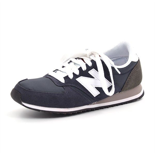 New Balance 420 Sneaker, navy/weiß