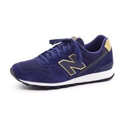 New Balance 996 Sneaker, navy/gold