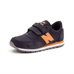 New Balance 420 Sneakers, navy/orange