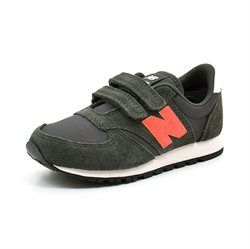 New Balance 420 Sneakers, olive/orange