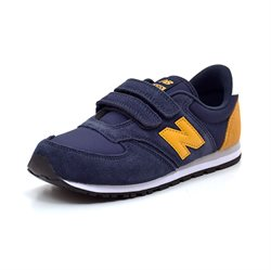 New Balance 420 Sneakers, navy/gelb