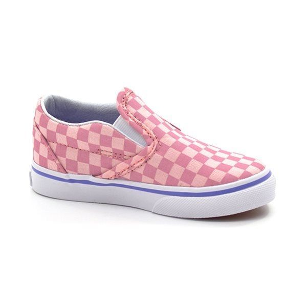 vans skateschuh slip ons kariert rosa. Black Bedroom Furniture Sets. Home Design Ideas