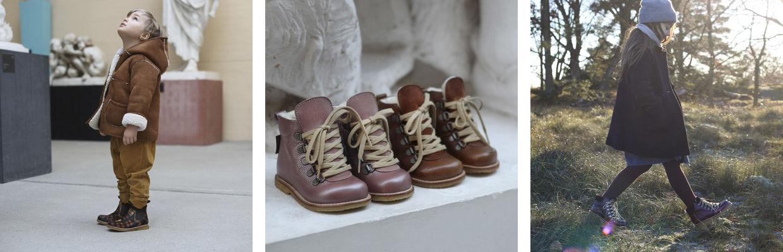 Angulus , Unisex Kinder Chelsea Boots, Braun braun Größe